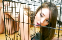 It was the best sexual idea my amazing ex girlfriend ever suggested. It was the hot roleplay while she, little birdie, was trapped in the cage and banged deeply. She was stunned by my stamina and completely loved this sex act!