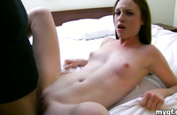 This hottie loved to make some homemade porn, she loved watching it while we were doing it! This horny thing was a great mistress of sex.